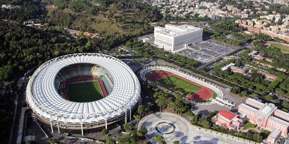 """Матчи EURO на """"Стадио Олимпико"""""""