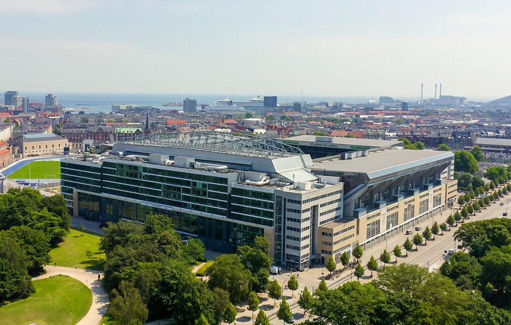 "Арена ""Паркен"" в Копенгагене"