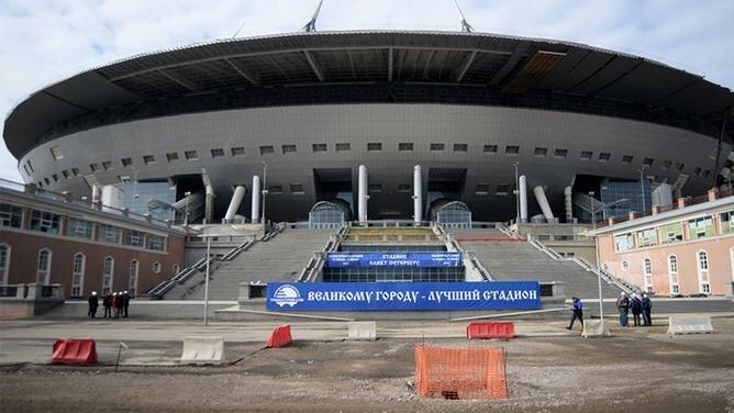 Газпром Арена на ЕВРО 2020